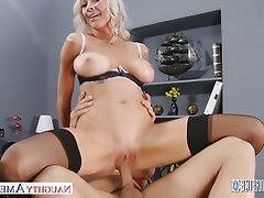 Big Boobs Blonde Blowjob Hardcore Pornstar