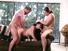 Anal Blowjob Double Penetration Facial Threesome