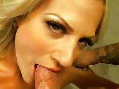 Amateur Blonde Cumshot Handjob POV