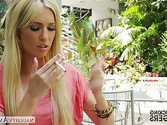 Blonde Blowjob Hardcore Pornstar