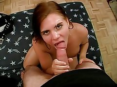 Amateur Big Boobs Blowjob Brunette Facial