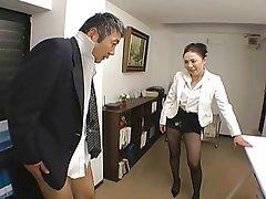 BDSM Femdom Japanese Strapon