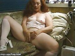 Granny Hairy Hardcore Mature Redhead