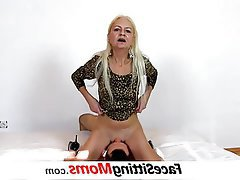 Mature MILF Granny Face Sitting Old and Young