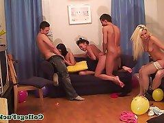 Amateur Group Sex Teen