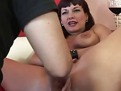 Big Boobs Blowjob Brunette Facial MILF