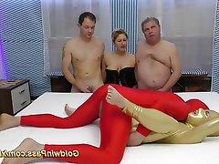 Amateur German Group Sex Spandex