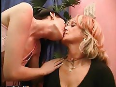 Big Boobs Granny Lesbian Mature Old and Young