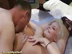 Group Sex German Bukkake Orgy Party