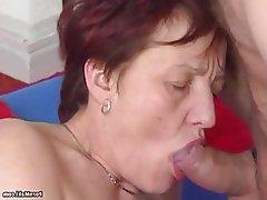 Granny Hairy Hardcore Mature Saggy Tits