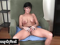 Amateur Big Boobs Brunette Masturbation MILF