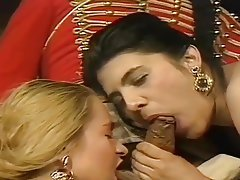 Anal Babe Blowjob Vintage Threesome