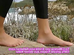 Amateur German Foot Fetish Footjob