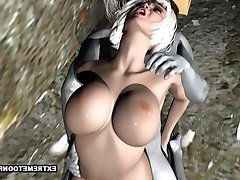Hentai Cartoon 3D Outdoor Fucking