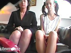 German Skinny MILF Teen