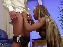 Big Boobs Blonde German Old and Young Teen