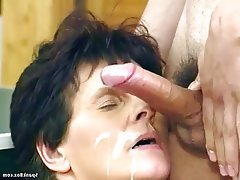 German Granny Hairy Mature Old and Young