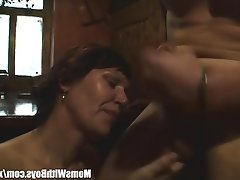 Granny Mature MILF Old and Young Redhead