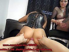 BDSM German Face Sitting Orgy Teen