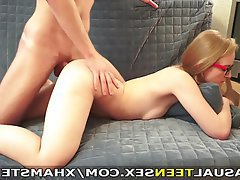 Blonde Blowjob Handjob Teen