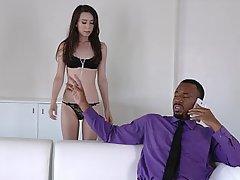 Boss Hardcore Black Cock Interracial