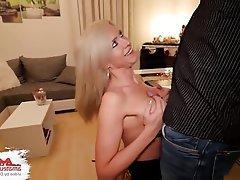 Anal Blonde Blowjob Creampie