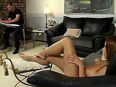 Anal Babe Brunette Cumshot Fucking