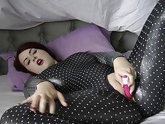 Big Boobs Foot Fetish Latex Masturbation