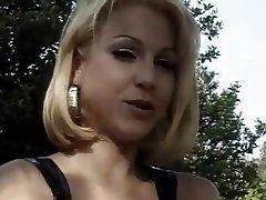 Anal Blonde Double Penetration Facial
