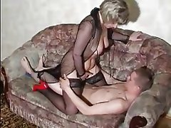 Hardcore Mature Old and Young Russian Stockings