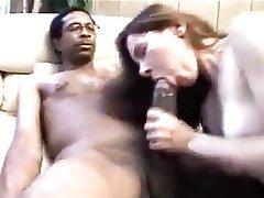 Amateur Blowjob Brunette Interracial