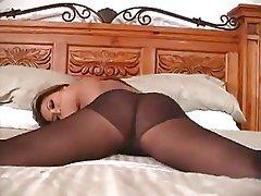 Asian Big Boobs Brunette Masturbation Stockings