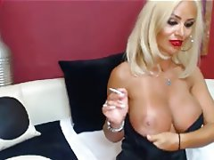 Blonde Masturbation MILF Webcam