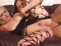 Anal Babe Hardcore Latex Stockings