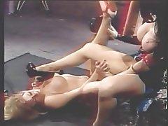 Lesbian MILF Big Boobs Blonde Brunette