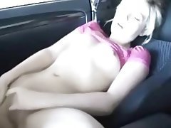Blonde Close Up Masturbation Small Tits