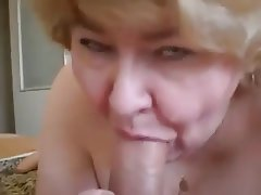 Amateur BBW Blowjob Granny Old and Young