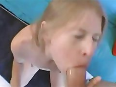 Blonde Blowjob Skinny Small Tits