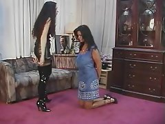BDSM Lesbian Big Boobs Brunette Foot Fetish