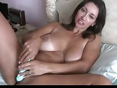 Big Boobs Masturbation MILF Pornstar