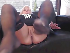 Amateur Blonde Foot Fetish Mature Pantyhose