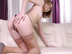 Lingerie Masturbation Pantyhose Stockings