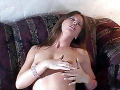 Masturbation MILF Brunette Lingerie