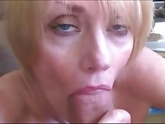 Amateur Blonde Facial Mature MILF