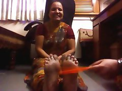Amateur Foot Fetish Indian