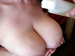 Big Boobs Cumshot Masturbation