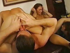 Anal Blowjob Double Penetration Facial Group Sex