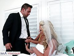 Blonde Blowjob Hardcore Pornstar Threesome