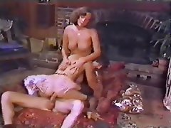 Anal Group Sex Lingerie Stockings Vintage