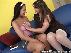 Ass Licking Cunnilingus Lesbian MILF Old and Young